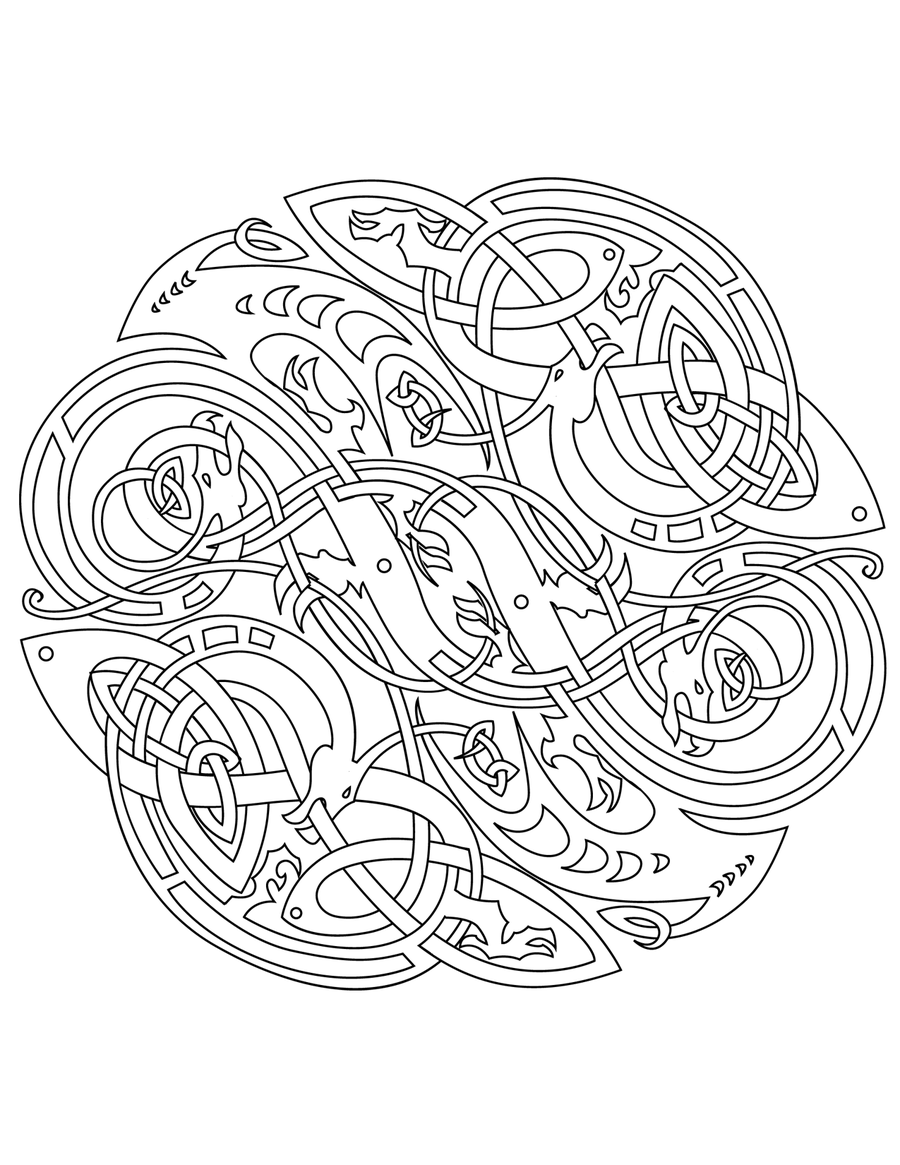 celtic mandala coloring pages for adults mandala coloring pages celtic mandala coloring pages for for coloring mandala pages adults celtic