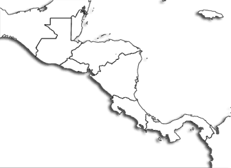 central america blank map blank map of central america and mexico source of map map central america blank