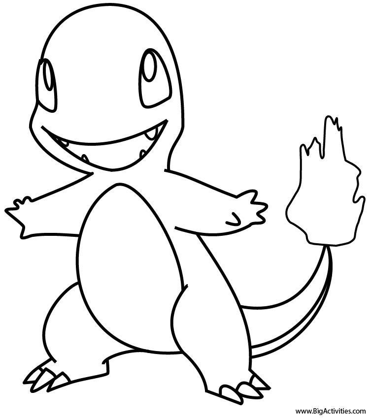 charmander colouring pages charmander coloring page pokemon charmander pages colouring
