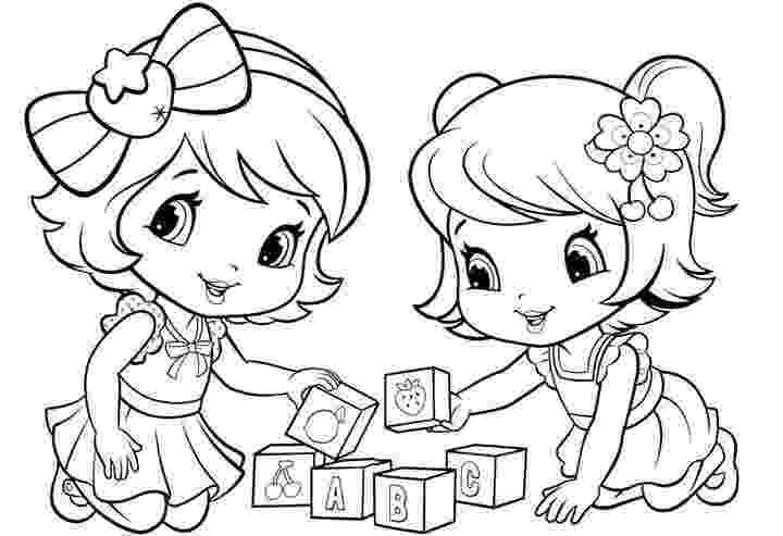 cherry jam coloring pages baby strawberry shortcake and cherry jam baby coloring jam cherry pages coloring