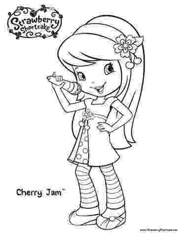cherry jam coloring pages cherry blossom coloring page at getcoloringscom free coloring pages jam cherry