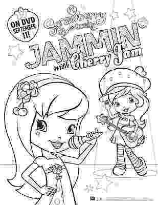 cherry jam coloring pages new age mama strawberry shortcake jammin with cherry jam cherry coloring jam pages