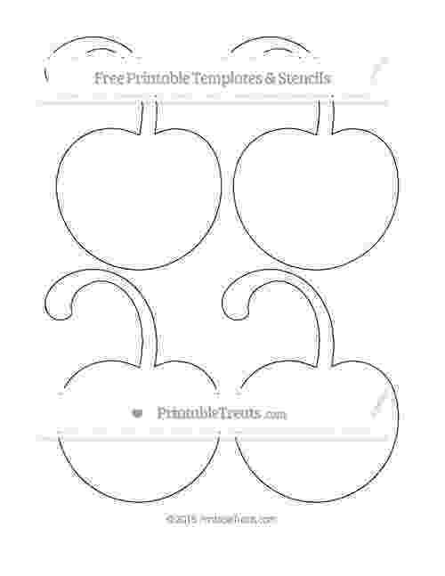 cherry template printable printable cherry blossom template template cherry printable