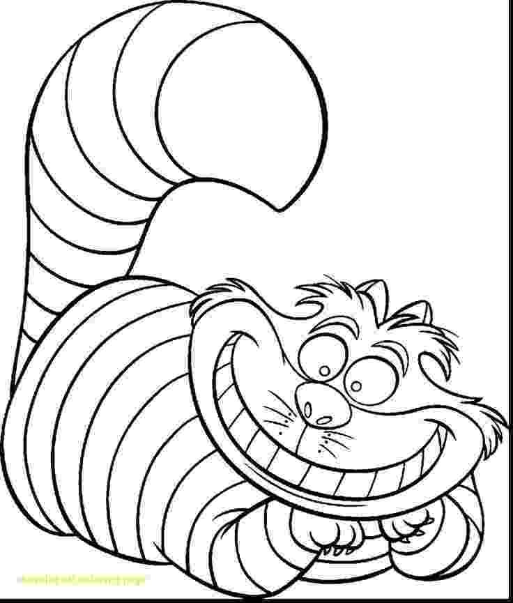cheshire cat coloring pages cheshire cat coloring page with astounding alice coloring cheshire cat pages