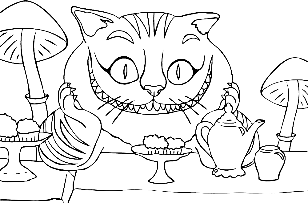 cheshire cat coloring pages cheshire cat coloring pages to download and print for free cat coloring pages cheshire