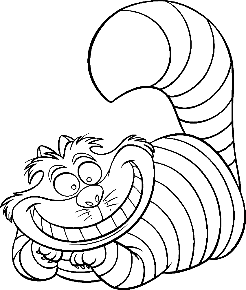 cheshire cat coloring pages cheshire cat coloring pages to download and print for free cheshire pages coloring cat