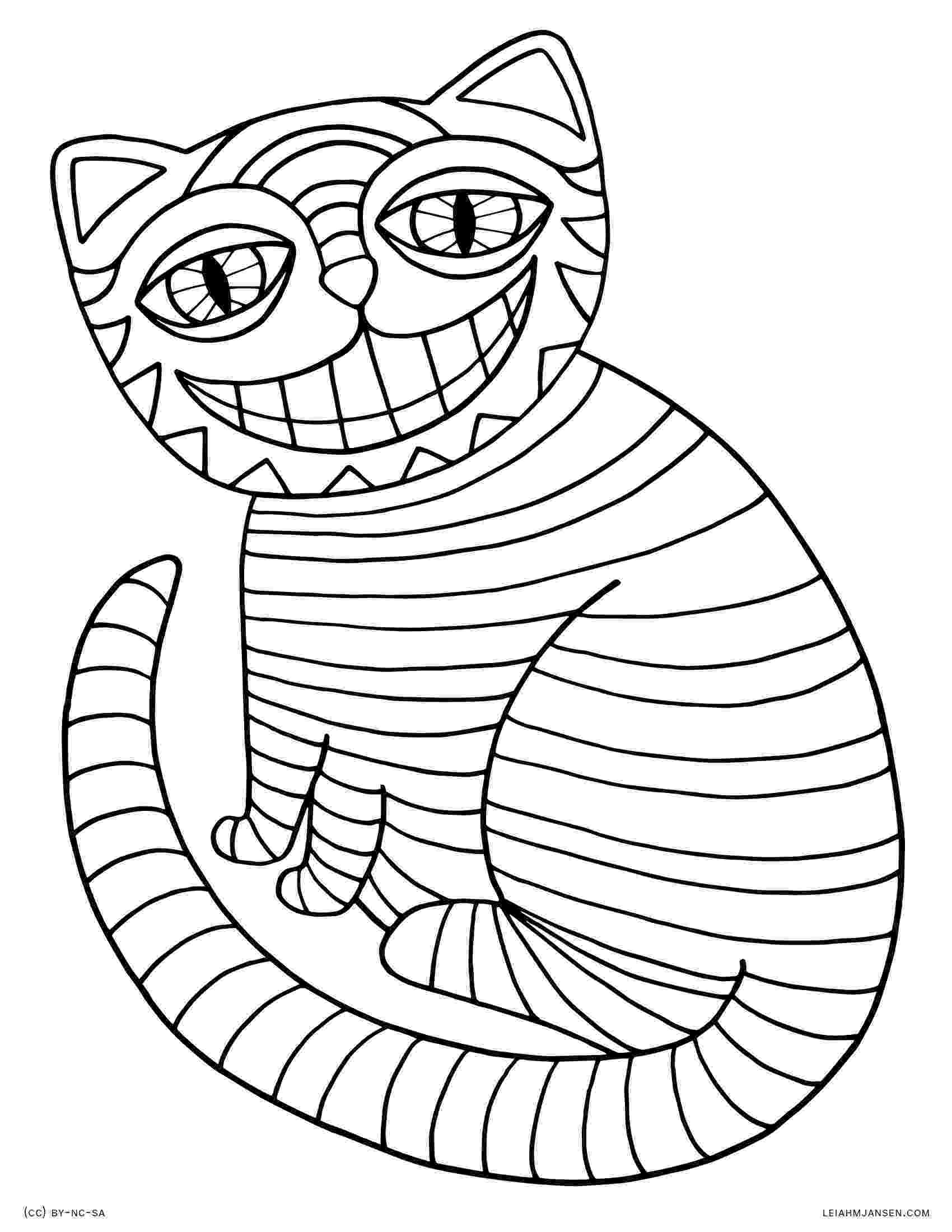 cheshire cat coloring pages coloring pages cheshire cat coloring pages