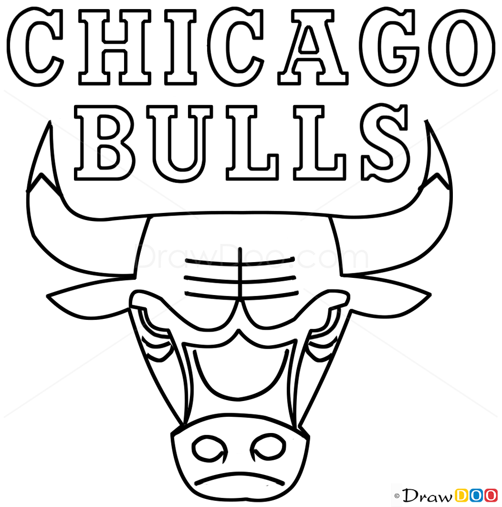 chicago bulls coloring pages chicago bulls coloring pages bulls coloring chicago pages