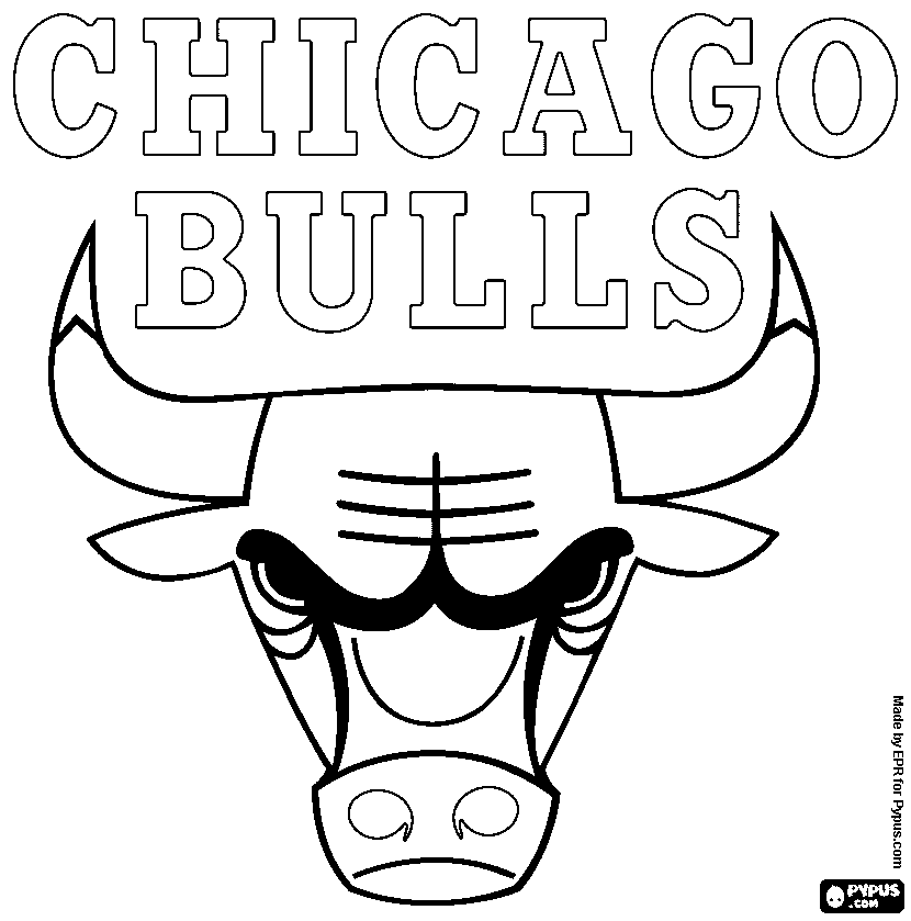 chicago bulls coloring pages chicago bulls logo page coloring pages coloring chicago bulls pages