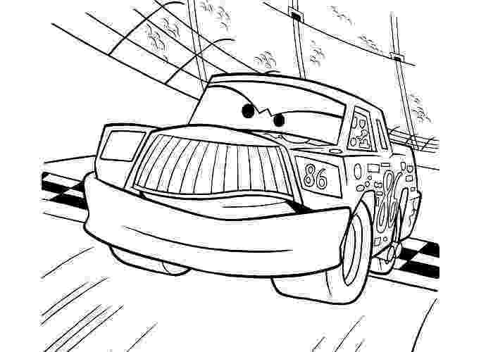chick hicks coloring page cars chick hicks coloring pages disegni da colorare page hicks coloring chick