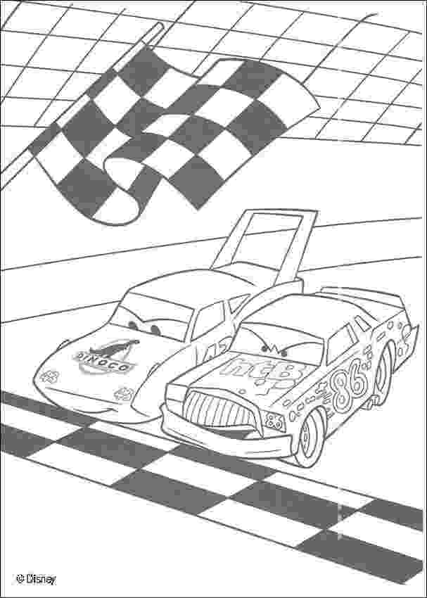 chick hicks coloring page racing between mc queen and chick hicks coloring pages coloring chick hicks page