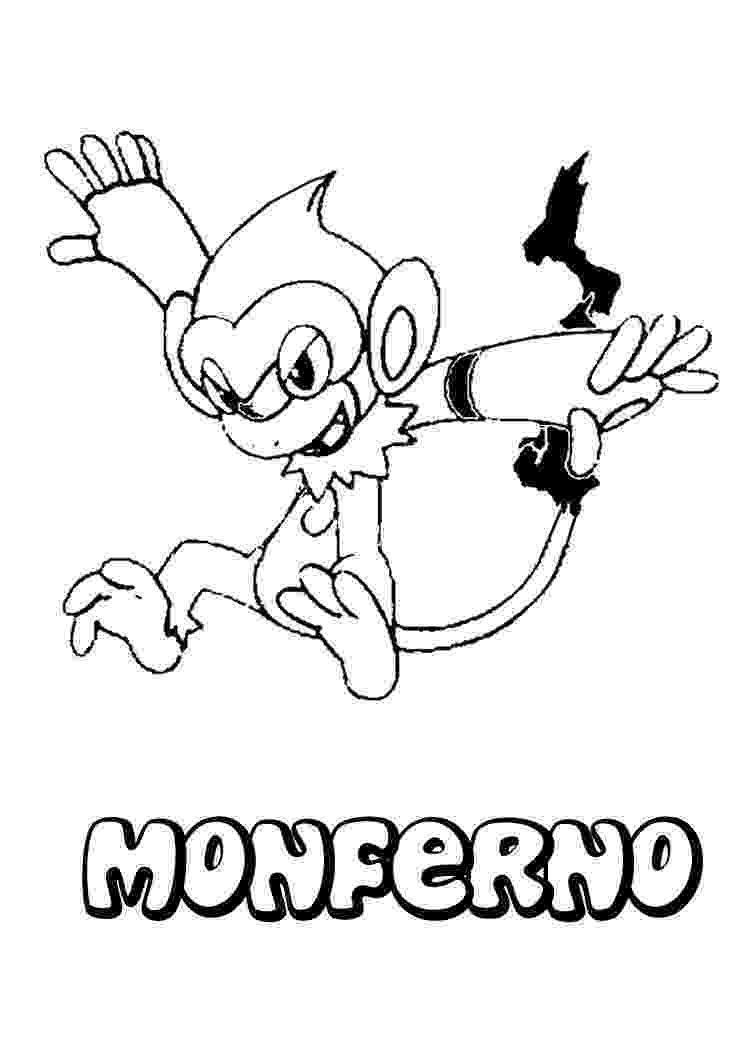 chimchar pokemon coloring pages fire pokemon coloring pages chimchar pages chimchar coloring pokemon