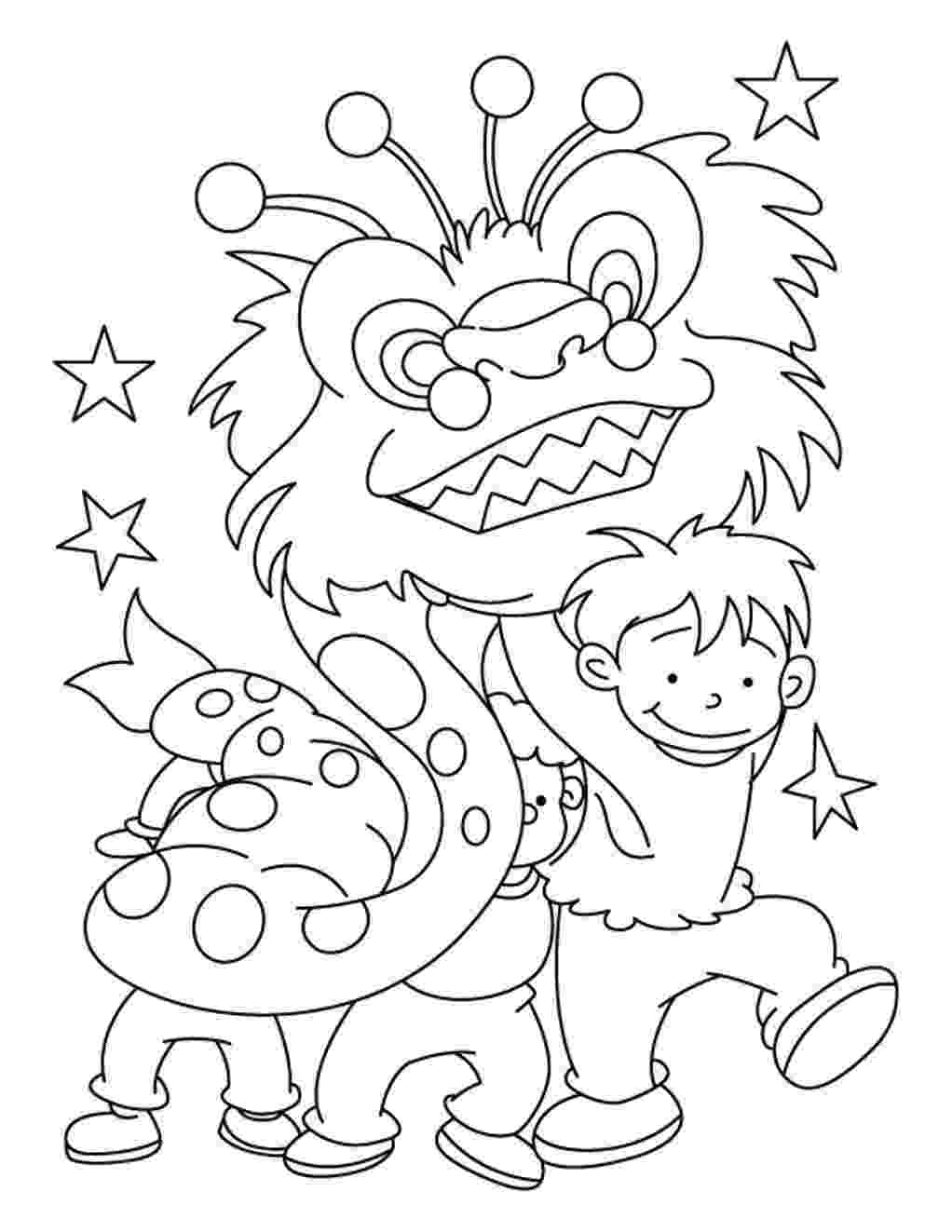 chinese new year coloring pages celebrate chinese new year with 6 cool coloring pages chinese new coloring pages year