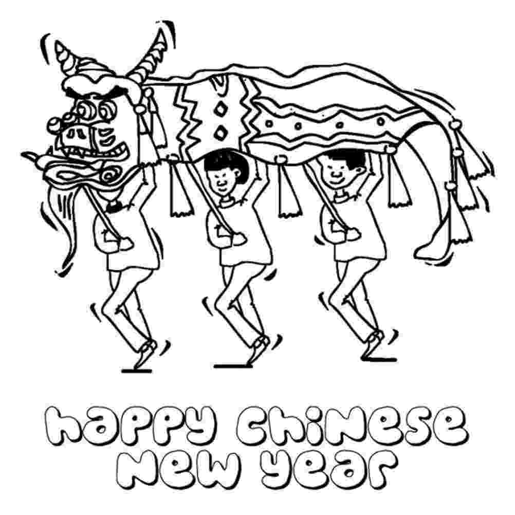 chinese new year coloring pages chinese new year coloring pages free printable chinese year coloring new chinese pages