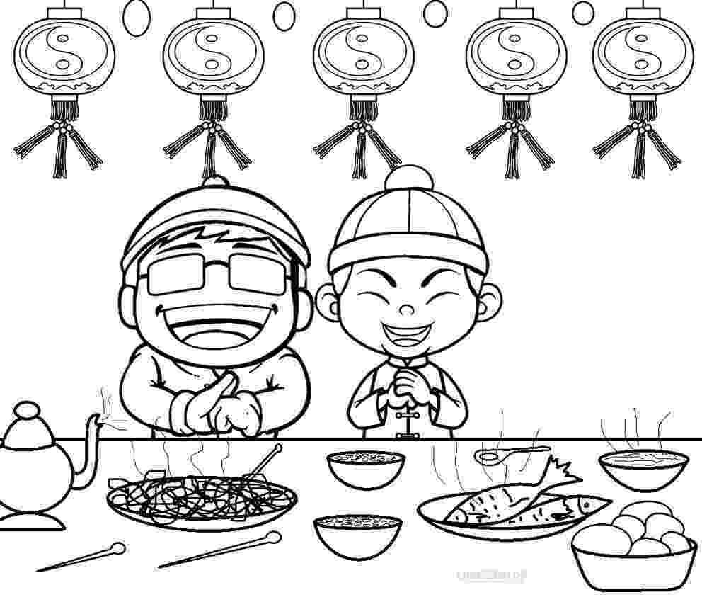 chinese new year coloring pages chinese new year coloring pages pages new chinese year coloring