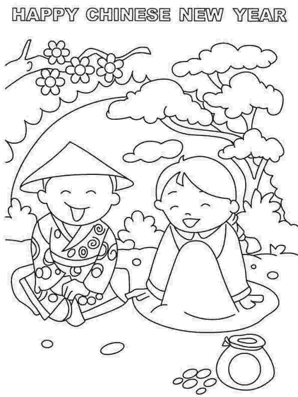 chinese new year coloring pages chinese new year coloring pages to download and print for free coloring chinese new pages year