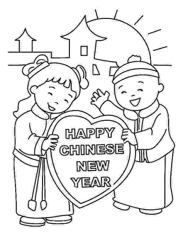 chinese new year coloring pages chinese new year coloring pages to download and print for free pages chinese year coloring new
