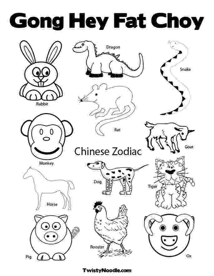 chinese new year coloring pages happy chinese new year colouring page chinese new year pages coloring year new chinese