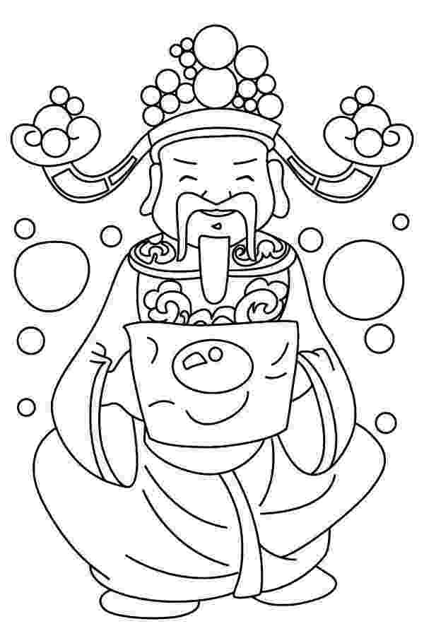 chinese new year coloring pages printable chinese new year coloring pages for kids year new coloring pages chinese