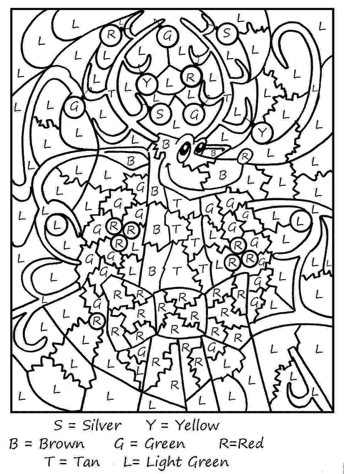 chirstmas coloring pages christmas colour by numbering hd wallpapers blog pages chirstmas coloring