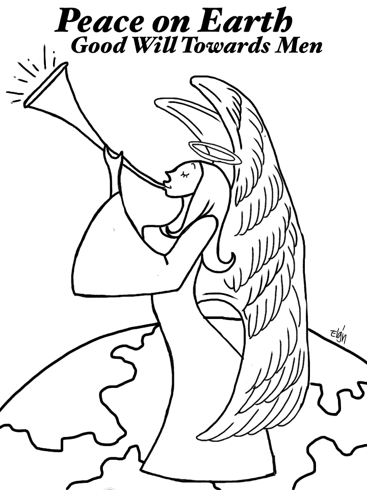 christmas angel coloring pages christmas angel coloring pages learn to coloring christmas coloring pages angel
