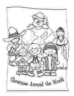 christmas around the world coloring pages around the worlds mini books and the world on pinterest christmas coloring the world around pages