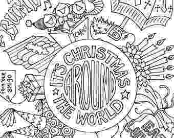 christmas around the world coloring pages children around the world coloring page coloring pages pages around coloring the christmas world