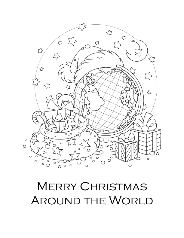 christmas around the world coloring pages christmas around the world coloring pages pages world the christmas coloring around