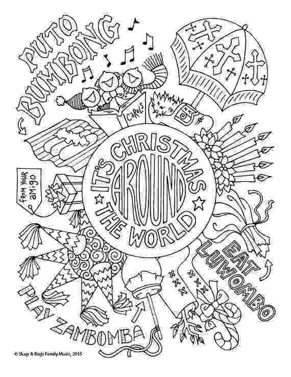 christmas around the world coloring pages christmas around the world coloring pages timeless pages around coloring world christmas the