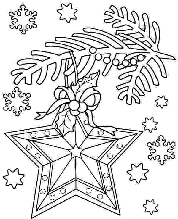 christmas baubles colouring pages bauble on christmas tree free coloring page for child christmas pages colouring baubles