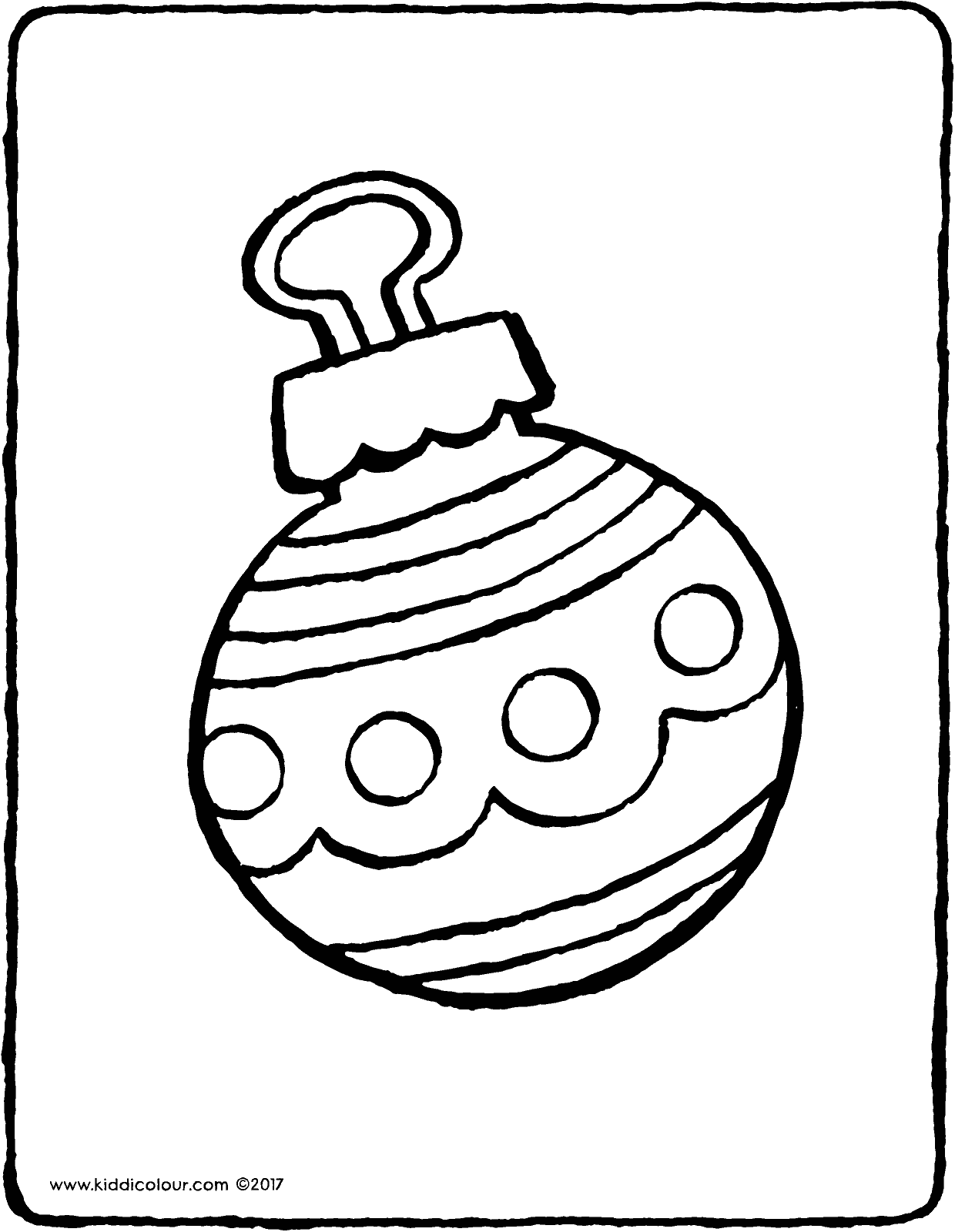 christmas baubles colouring pages christmas bauble kiddicolour christmas colouring pages baubles