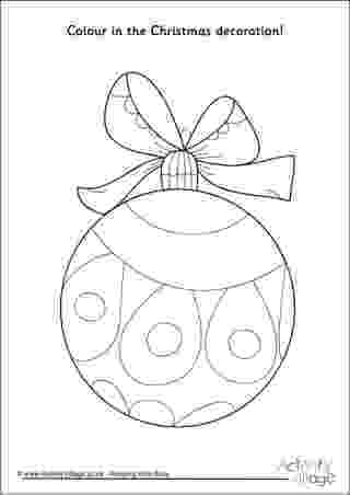 christmas baubles colouring pages christmas decorations colouring pages pages colouring christmas baubles