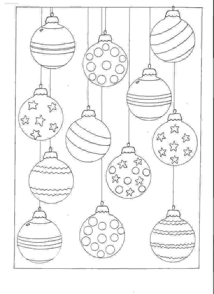 christmas baubles colouring pages color your own christmas ornaments printable pages baubles christmas colouring