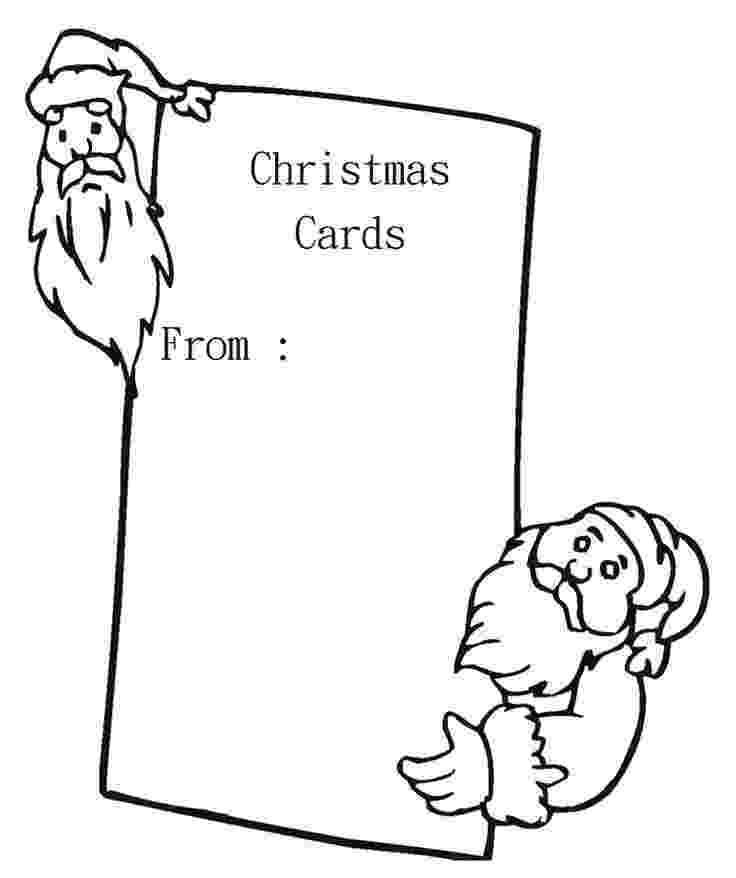 christmas card coloring 10 best christmas cards coloring page images on pinterest card coloring christmas