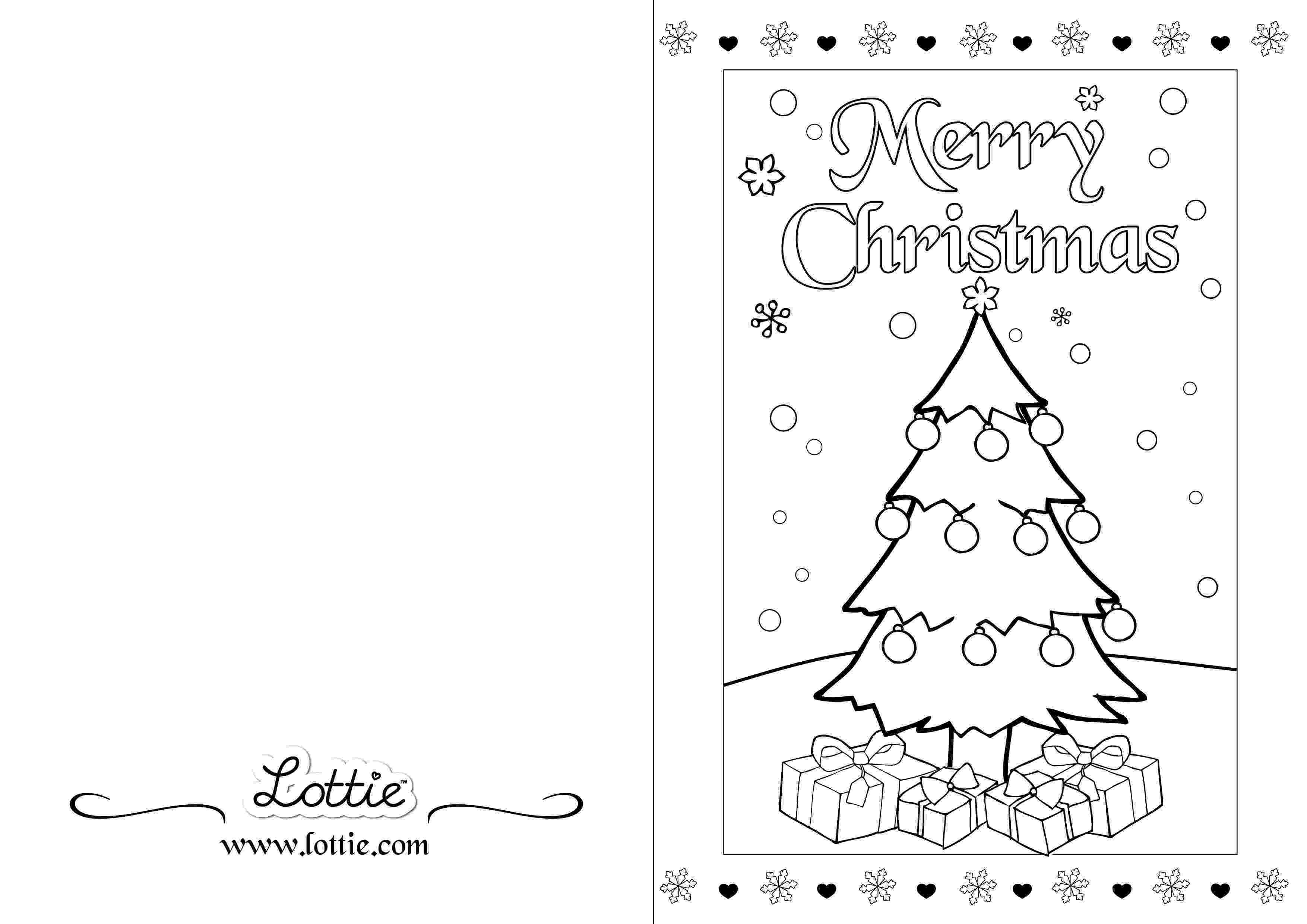 christmas card coloring christmas colouring card 2 lottie irl christmas coloring card