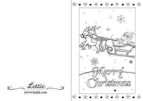 christmas card coloring christmas colouring card 3 lottie dolls christmas card coloring