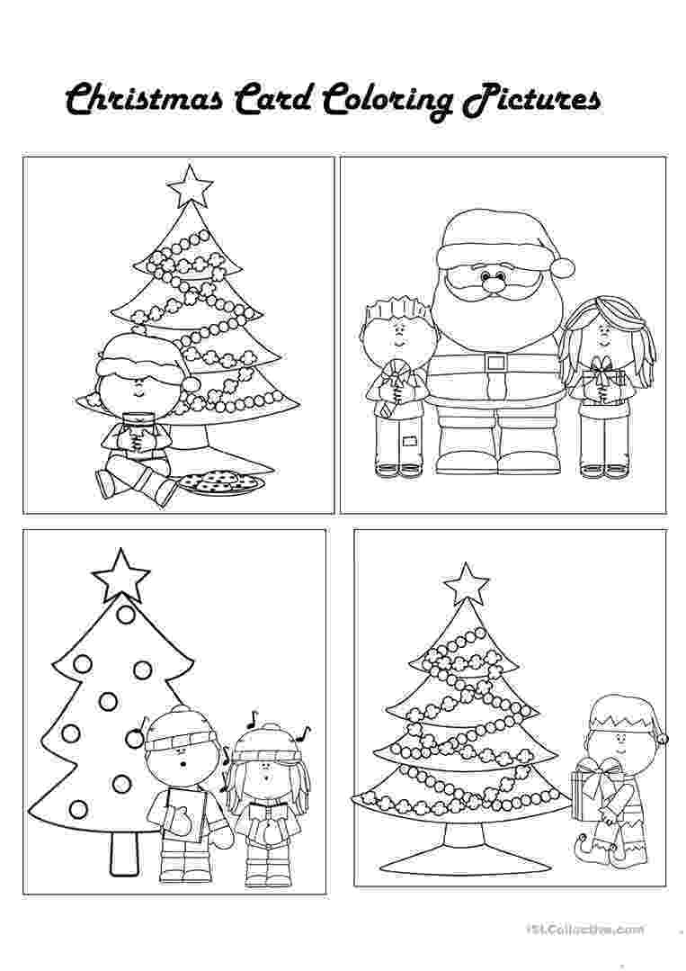 christmas card coloring santa in sleigh coloring pages download and print for free card christmas coloring