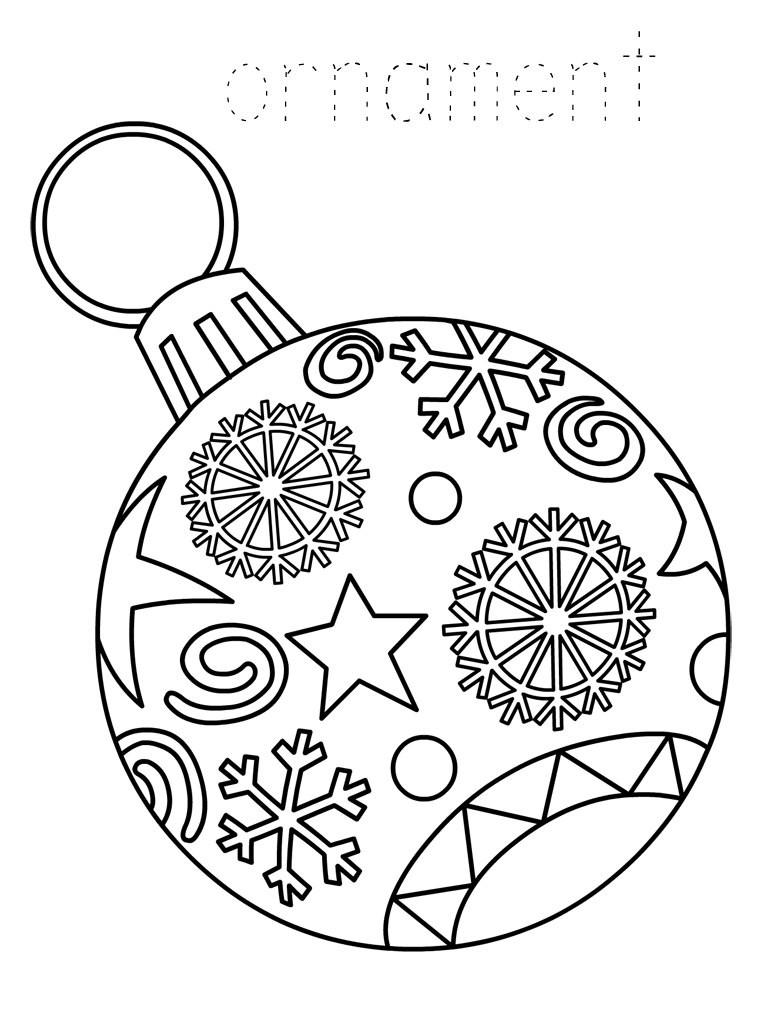 christmas coloring pages to print free christmas ornament coloring pages best coloring pages pages print to christmas coloring free