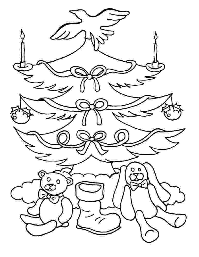 christmas coloring pages to print free free printable christmas tree coloring pages for kids coloring free to christmas print pages