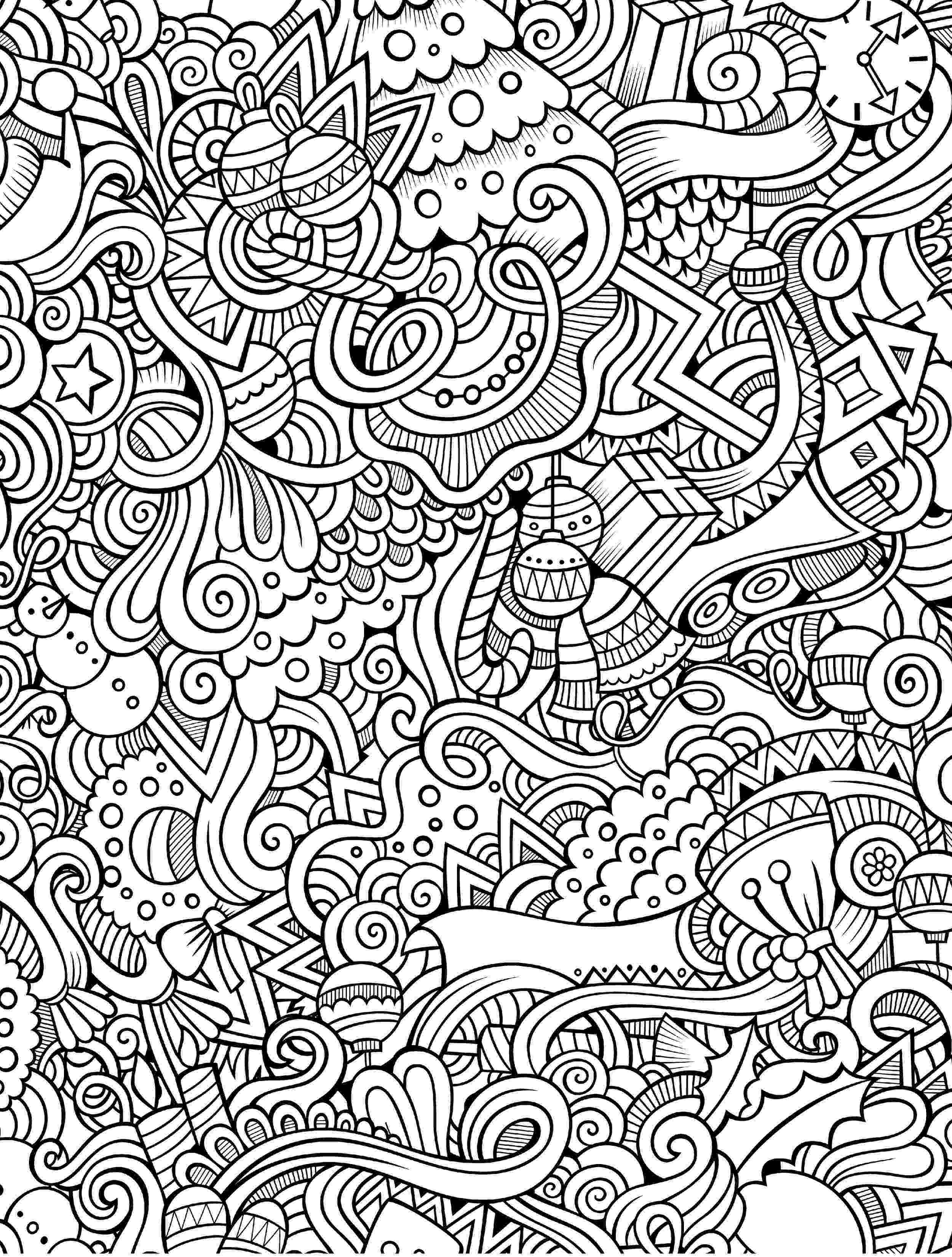 christmas colouring pages for adults printable 21 christmas printable coloring pages everythingetsycom christmas for adults colouring printable pages