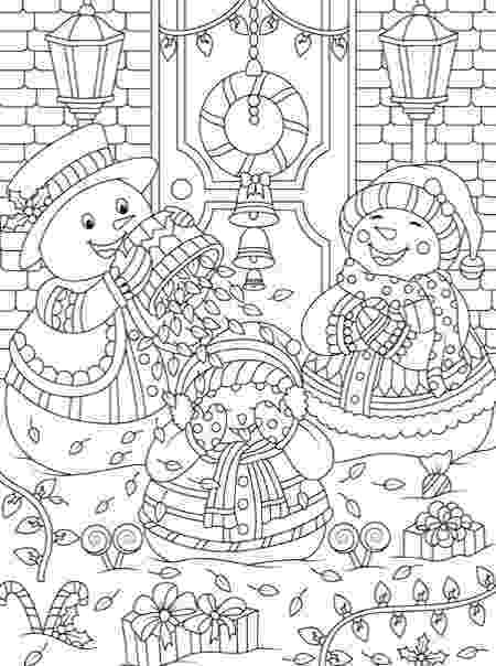 christmas colouring pages for adults printable tropical snowman coloring page adult coloring beach holidays colouring christmas pages for printable adults