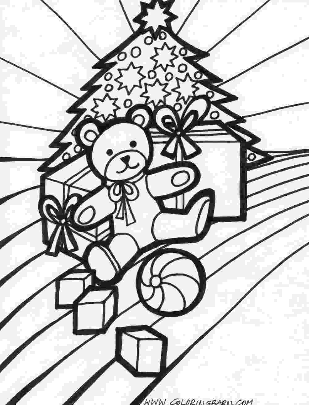 christmas presents coloring pages toys coloring pages coloring pages presents christmas