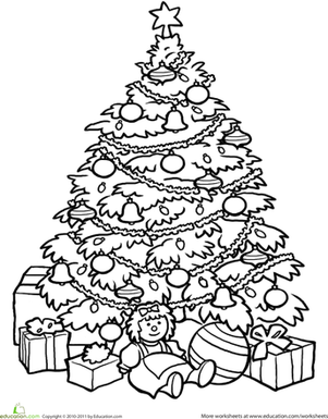christmas tree pictures coloring pages christmas tree worksheet educationcom christmas coloring pages pictures tree