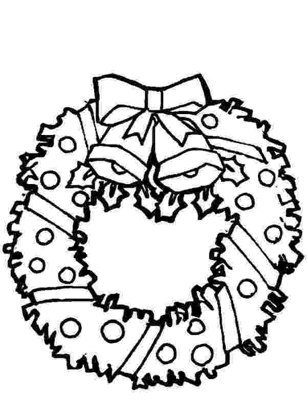 christmas wreaths coloring pages christmas stocking and christmas wreath for decoration wreaths pages christmas coloring