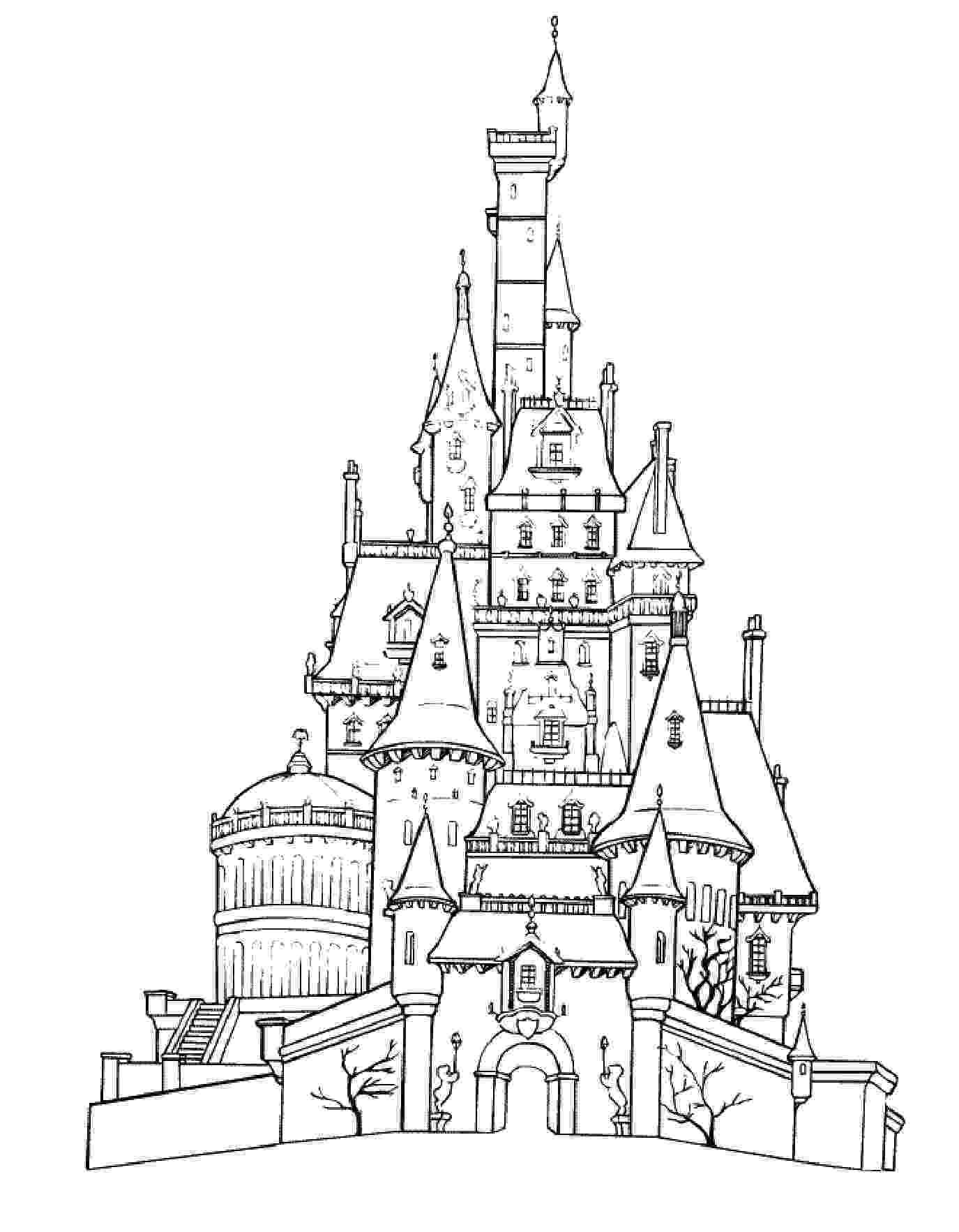 cinderella castle coloring pages castles coloring pages coloring pages cinderella castle