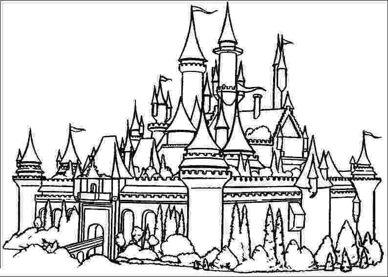 cinderella castle coloring pages princess cinderella color pages printable disney castle pages coloring castle cinderella