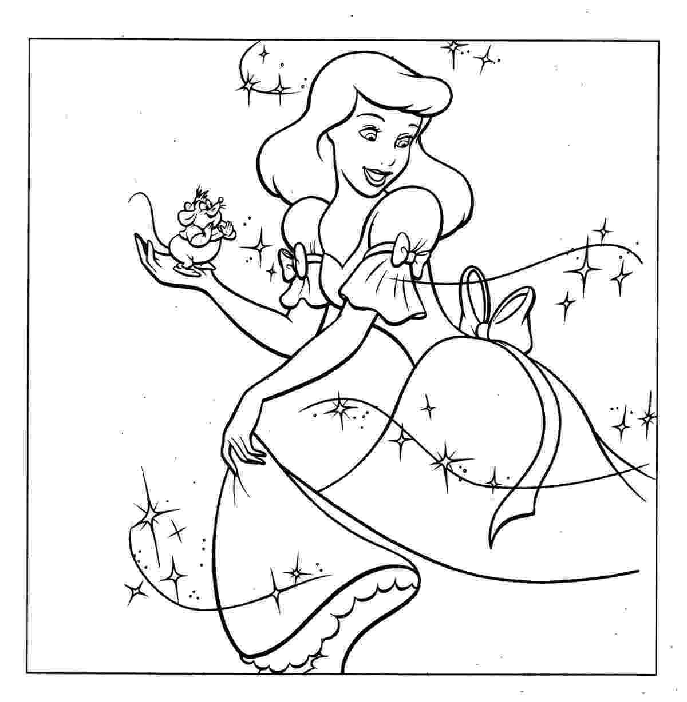 cinderella coloring pages free cinderella coloring pages coloringpages1001com coloring cinderella pages free