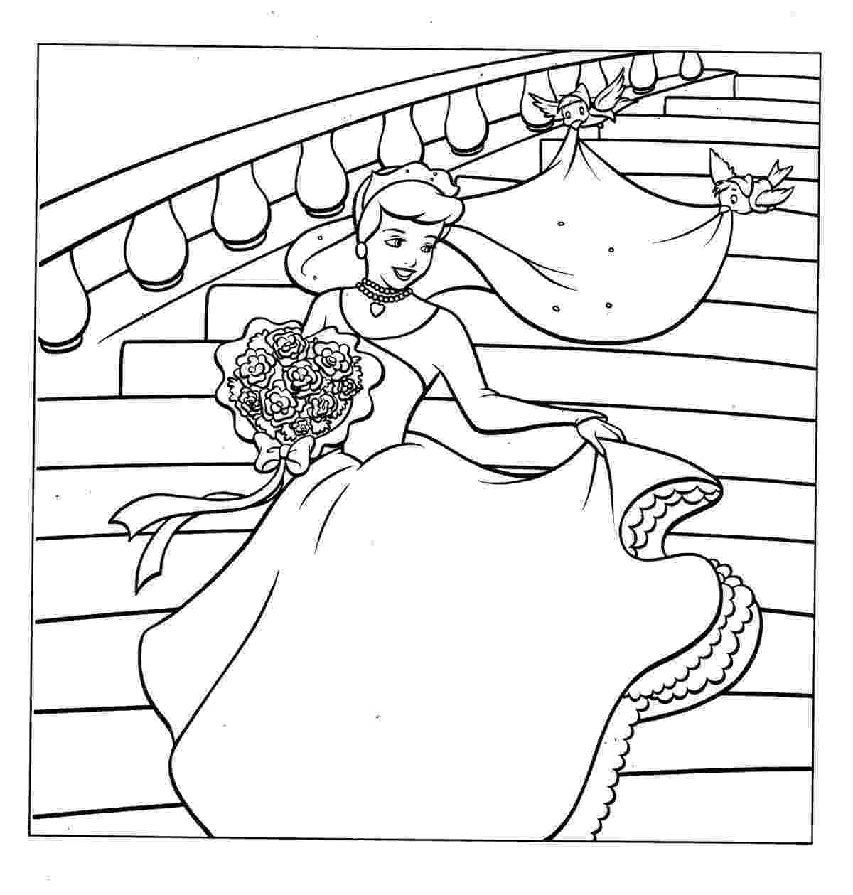 cinderella coloring pages free free printable cinderella activity sheets and coloring coloring cinderella free pages