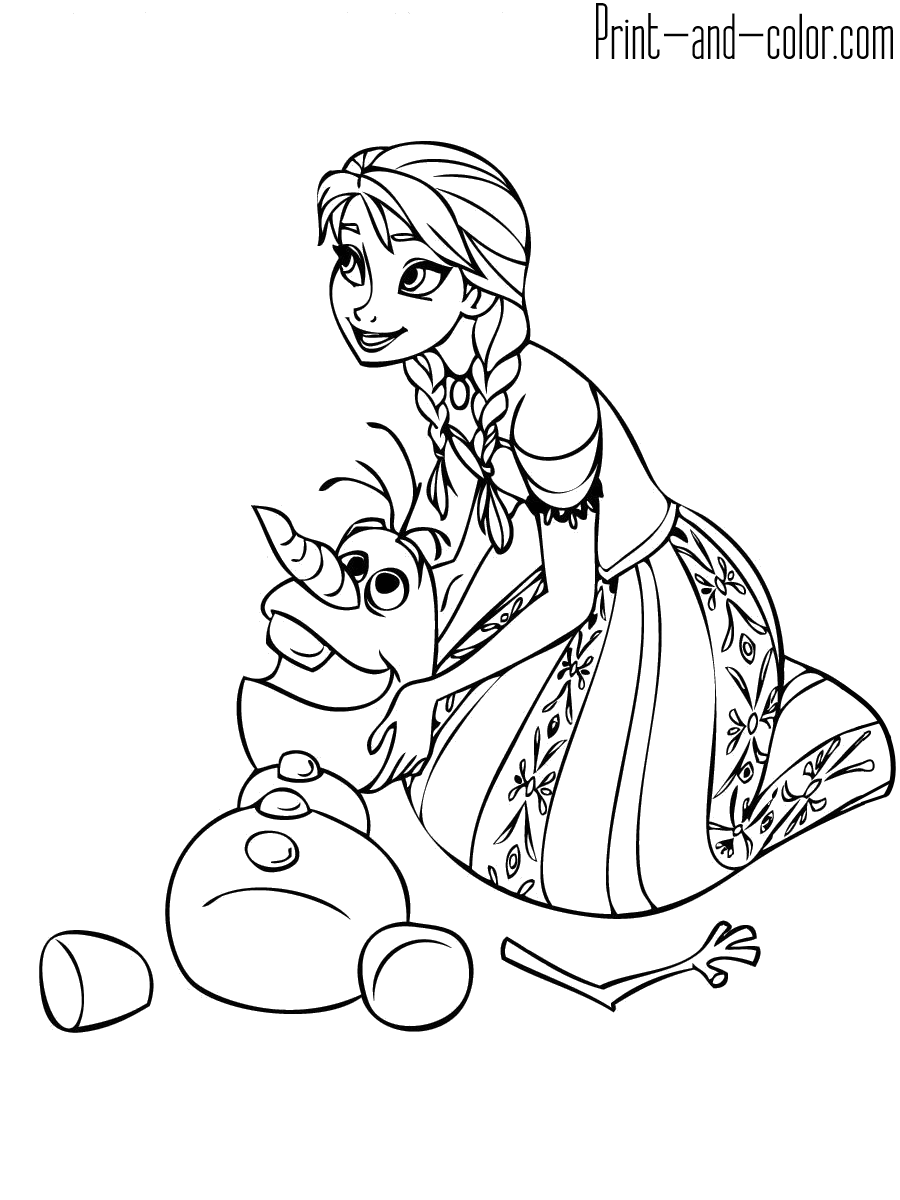 color pages frozen frozen coloring pages only coloring pages pages color frozen