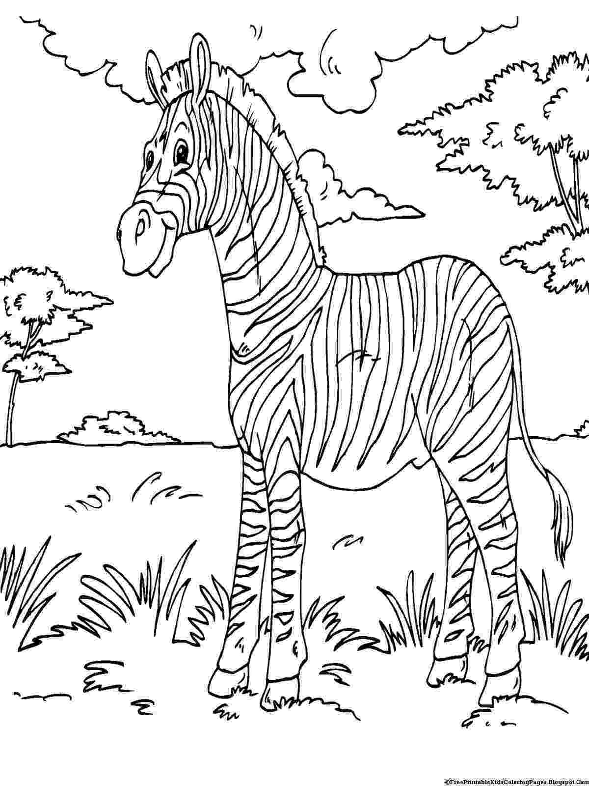 color pages to print zebra coloring pages free printable kids coloring pages color to pages print